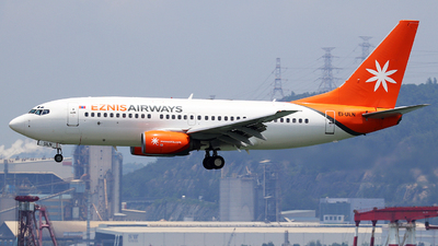 EI-ULN - Boeing 737-73V - Eznis Airways