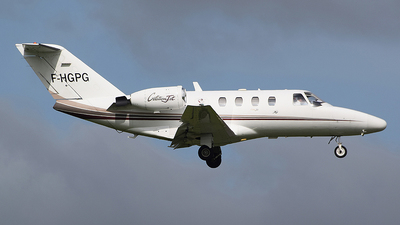F-HGPG - Cessna 525 Citationjet CJ1 - VallJet
