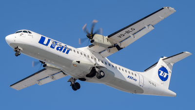 VQ-BLG - ATR 72-212A(500) - UTair Aviation