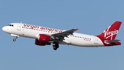N837VA - Airbus A320-214 - Virgin America