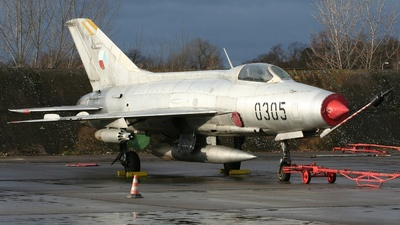 0305 - Mikoyan-Gurevich MiG-21F-13 Fishbed C - Czechoslovakia - Air Force