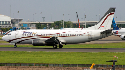 PK-TXZ - Boeing 737-36N - Xpress Air