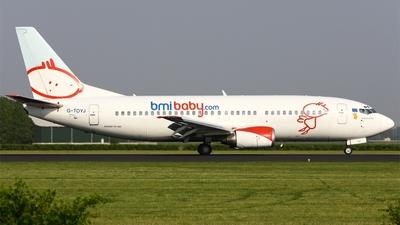 G-TOYJ - Boeing 737-36M - bmibaby