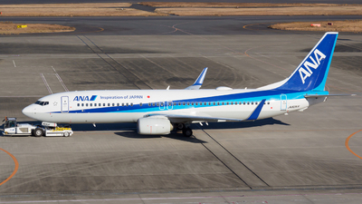 A picture of JA82AN - Boeing 737881 - All Nippon Airways - © Yoshio Yamagishi