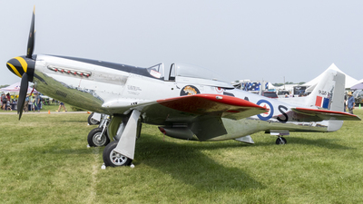 NL951HB - North American P-51D Mustang - Private