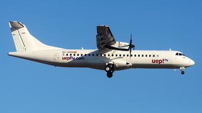 A picture of ECKKQ - ATR 72500 - Swiftair - © Alexander Portas