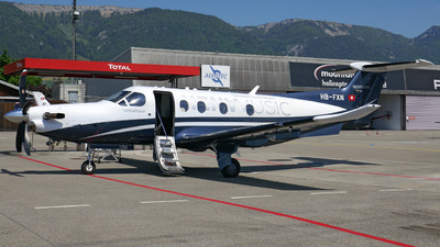 HB-FXN - Pilatus PC-12/47E - Private