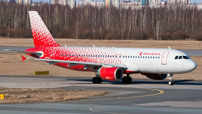 VQ-BCG - Airbus A320-214 - Rossiya Airlines