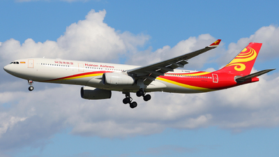 A picture of B1048 - Airbus A330343 - Hainan Airlines - © David Tian