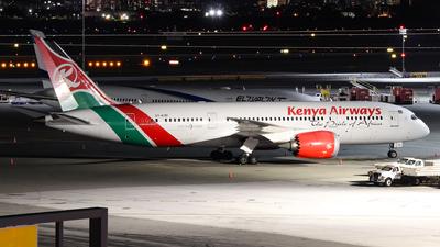 A picture of 5YKZF - Boeing 7878 Dreamliner - Kenya Airways - © Andriy Yegorov