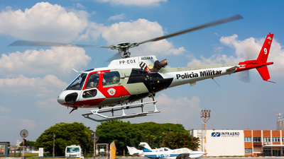 PP-EOX - Helibrás AS-350B2 Esquilo - Brazil - Military Police