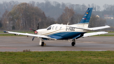 D-FHBG - Socata TBM-850 - Private