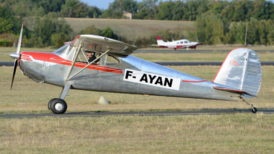 F-AYAN - Cessna 140 - Private