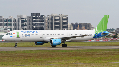 A picture of VNA597 - Airbus A321211 - Bamboo Airways - © JamesChang
