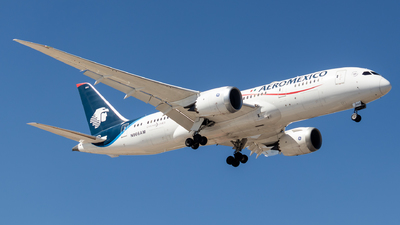 A picture of N966AM - Boeing 7878 Dreamliner - Aeromexico - © Santiago_MN