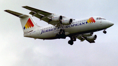 G-JEAW - British Aerospace BAe 146-200 - Jersey European Airways