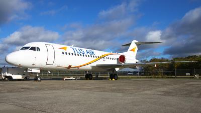 A picture of 5BDDA - Fokker 70 - [11536] - © BaszB