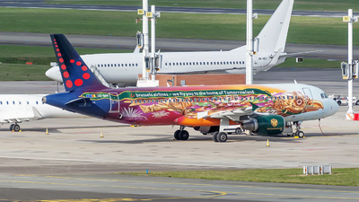 A picture of OOSNF - Airbus A320214 - Brussels Airlines - © Sebastian Thiel