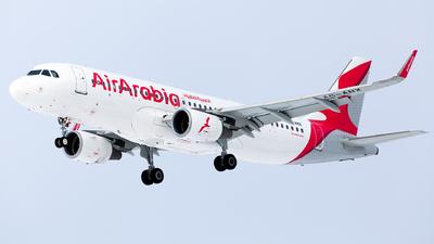 A6-ANX - Airbus A320-214 - Air Arabia