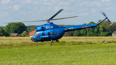 UR-WIS - PZL-Swidnik Mi-2 Hoplite - Private