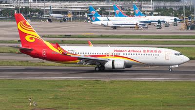 A picture of B5623 - Boeing 73784P - Hainan Airlines - © Shiori Daredemo Daisuki