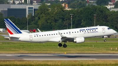 F-HBLJ - Embraer 190-100STD - Air France (Régional Compagnie Aerienne)