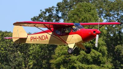 A picture of PHNDA - Piper PA12 Super Cruiser - [122918] - © BaszB