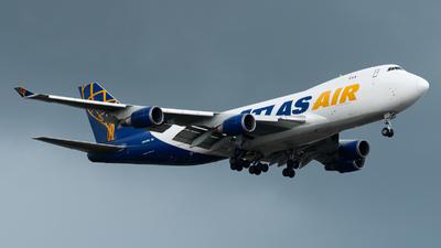 A picture of N493MC - Boeing 74747UF - Atlas Air - © Amarase Pamarapa