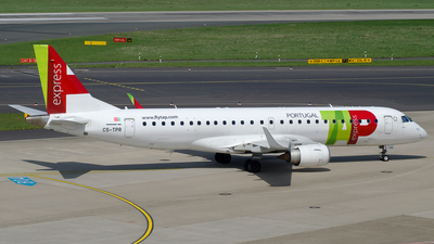 CS-TPR - Embraer 190-100LR - TAP Express