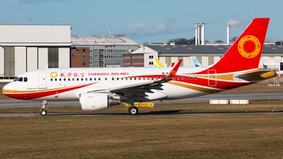B-8852 - Airbus A319-115 - Chengdu Airlines