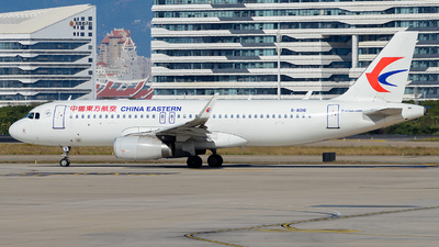 B-8018 - Airbus A320-232 - China Eastern Airlines