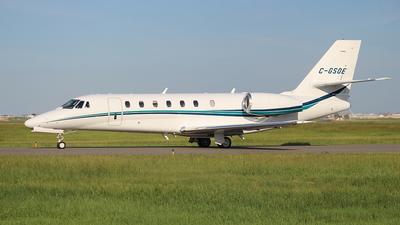 A picture of CGSOE - Cessna 680 Citation Sovereign - Sunwest Aviation - © Brad Novak