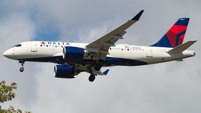 N108DQ - Airbus A220-100 - Delta Air Lines