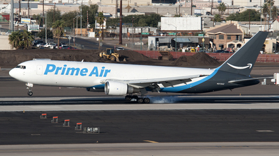 N313AZ - Boeing 767-338(ER)(BDSF) - Amazon Prime Air