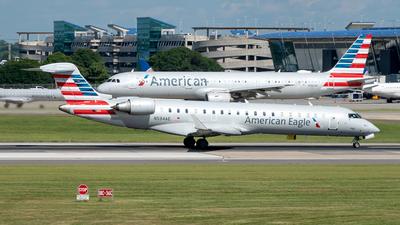 A picture of N534AE - Mitsubishi CRJ702ER - American Airlines - © Yan777