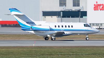 N55BA - Hawker Beechcraft 800XP - Private