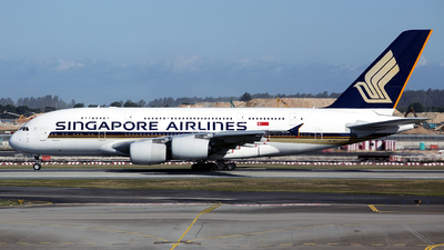A picture of 9VSKG - Airbus A380841 - Singapore Airlines - © Thanh Ho