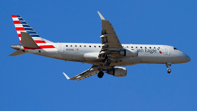 A picture of N116HQ - Embraer E175LR - American Airlines - © Jeremy D. Dando