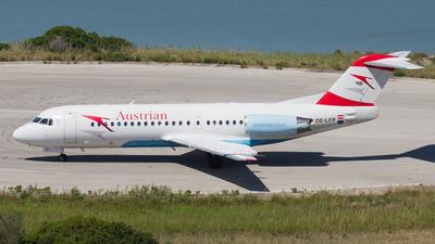 OE-LFP - Fokker 70 - Austrian Airlines