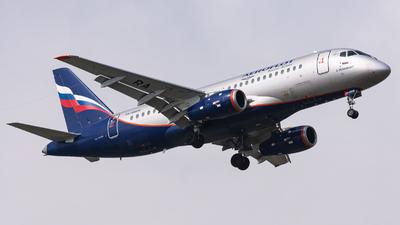 A picture of RA89026 - Sukhoi Superjet 10095B - Aeroflot - © Andrea Spoladore