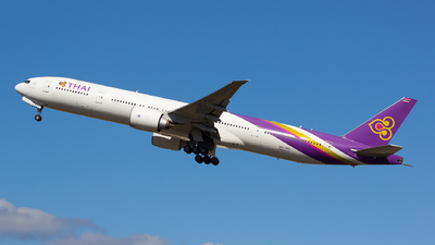 HS-TKO - Boeing 777-3ALER - Thai Airways International
