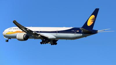 VT-JEU - Boeing 777-35RER - Jet Airways