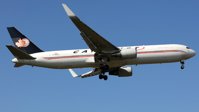A picture of CGAAJ - Boeing 767323(ER)(BDSF) - Cargojet Airways - © J.M.Carballo