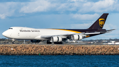 N615UP - Boeing 747-84AF - United Parcel Service (UPS)