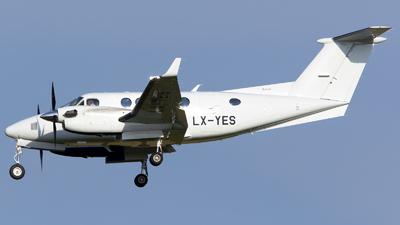 LX-YES - Beechcraft B200GT Super King Air - Luxaviation