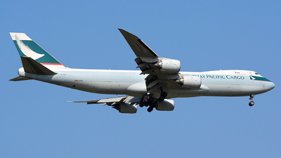 B-LJI - Boeing 747-867F - Cathay Pacific Cargo
