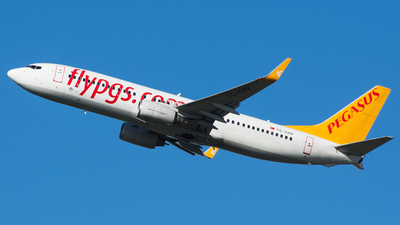 TC-CPP - Boeing 737-804 - Pegasus Airlines