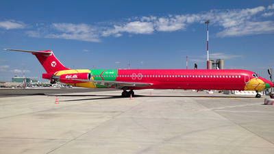 A picture of OYRUE - McDonnell Douglas MD83 - DAT - © Daniel Veronesi - RomeAviationSpotters