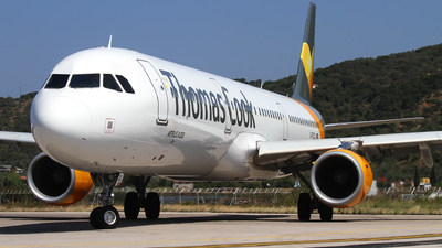 G-TCDL - Airbus A321-211 - Thomas Cook Airlines