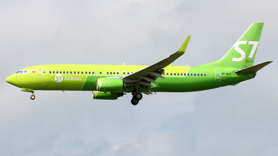 A picture of VPBLD - Boeing 7378Q8 - S7 Airlines - © Florian Resech
